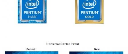 인텔, 펜티엄 일부 제품을 Pentium Gold로 개명 by 아키텍트