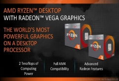 AMD가 신형 레이븐릿지(Raven Ridge) Ryzen Desktop Processors with Radeon Vega Graphics를 공식 출시했다. Ryzen Desktop Processors with Radeon Vega Graphics는 기존 젠 마이크로 아키텍처 기반 ...