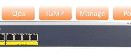 넷기어(NET GEAR), PoE+ 대응 신형 L2 스위치 2종 출시 by RAPTER