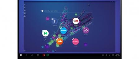오페라 네온(Opera Neon)릴리스, 미래를 나타내는 브라우저 by 프로페셔널