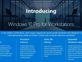 마이크로소프트, 윈도우10 프로 워크스테이션 발표 by 프로페셔널