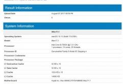 인텔이최근 발매한 최신 데스크탑용 프로세서 Core X 시리즈 중Intel Core i9-7900X를 탑재한 애플의 아이맥(iMac)과 맥 프로(Mac Pro)가 공개 되었습니다.    긱벤치(Geekbench) 사이트에 투고된 정보에 따르...