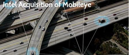 인텔 모빌아이 인수, 엔비디아와 자율 주행 시스템 경쟁 강화 by 아키텍트