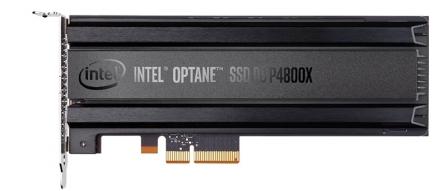 인텔 3D XPoint 옵테인DC P4800X SSD 발표, 최고 성능 by 아키텍트