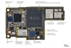 TechInsights가 아이폰11 Pro Max 512GB 분해 리포트를 공개했습니다.    리포트에 따르면 A13 Bionic 칩의 다이 사이즈는 10.67㎜ x 9.23㎜의 98.48㎟로 A12 Bionic 칩의 83.27㎟ 보다 18.27% 대형...