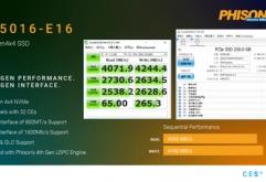"""대만 Phison Electronics는 9일(현지시간) 미국 라스베이거스에서 개최되고 있는 CES 2019에 출전하여 세계 최초의 PCI Express 4.0 대응 SSD 컨트롤러 """"PS5016-E16""""을 발표했다.    PCI Express 4.0 x4 접속으로 N..."""