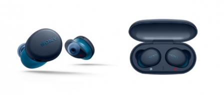 소니, 엑스트라 베이스 시리즈의 첫 완전 무선 이어폰 'WF-XB700' 출시 by 파시스트
