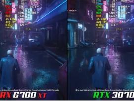 AMD RADEON RX 6700 XT vs. NVIDIA GEFORCE RTX 3070 by 프로페셔널