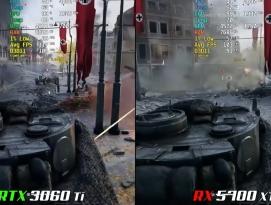지포스 RTX 3060 Ti vs. 라데온 RX 5700 XT by 아키텍트