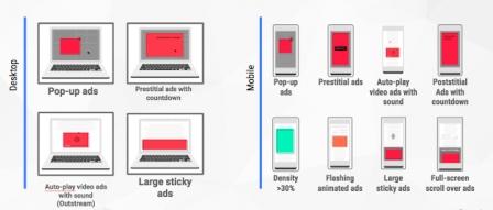 (구글) 7월 9일부터 더 나은 광고 표준에 따른 정책 실시 by RAPTER