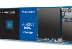 "Western Digital은 메인스트림 전용 WD Blue 시리즈에 NVMe을 지원하는 M.2 폼 팩터 SSD ""WD Blue SN500 NVMe SSD""를 추가했다고 발표했다. 250GB와 500GB의 2가지 모델을 준비하며 가격은 오픈 프라이스.    3D..."