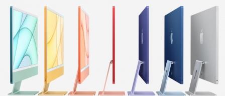 애플, M1 칩 탑재 컬러풀한 iMac 24 시리즈 출시 by 아키텍트