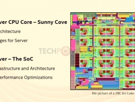 "Intel Xeon ""Ice Lake-SP"" 28코어 CPU, IPC 18% 상승 (Sunny Cove) by 아키텍트"
