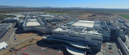 인텔, 애리조나에 2개의 새로운 첨단 반도체 공장 착공 by 아키텍트