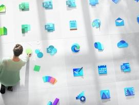 마이크로소프트, 100개 이상의 새로운 아이콘 디자인 발표 by 아키텍트