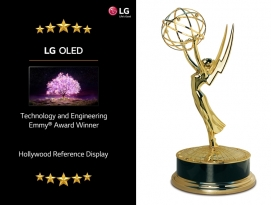 LG 올레드 TV, 美 에미상(Emmy Award) 수상 쾌거 by 파시스트