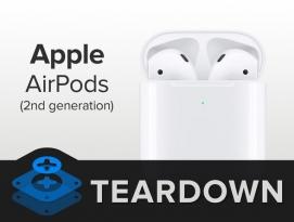신형 애플 애어팟2 분해 - 아이픽스잇 by 프로페셔널