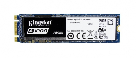 킹스톤 A1000 NVMe SSD 벤치마크, 저렴한 NVMe by 프로페셔널