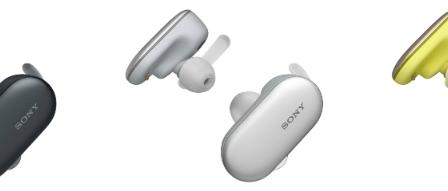 소니, 새로운 차원의 완전 무선 이어폰 WF-SP900 출시 by RAPTER