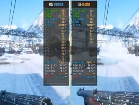 인텔 순정 i5 8400 vs. AMD 오버클럭 Ryzen 5 2600X OC 승부 by 프로페셔널