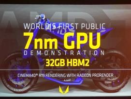 AMD 7nm 공정으로 생산된 Vega 시연과 EPYC 전시 by 아키텍트