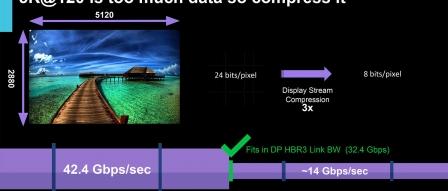 인텔 아이스레이크 iGPU는 DisplayPort 1.4a, DSC, 5K, 8K 지원 by 아키텍트