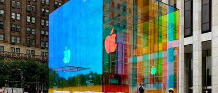 Apple Fifth Avenue의 새로운 유리 큐브 공개 by 프로페셔널