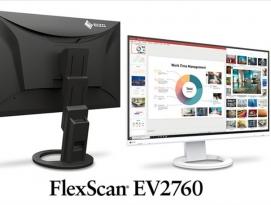 에이조(EIZO), 27인치 FlexScan EV2760 모니터 발표 by 아키텍트