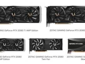 ZOTAC, 강력한 GeForce RTX 20시리즈 20일 정식 발매 by 아키텍트