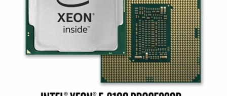 보급형 제온, 인텔 제온 E-2100 프로세서 출시 by 아키텍트