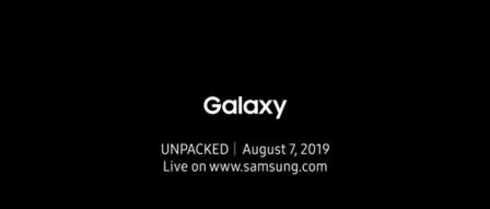 삼성 8월 7일 언팩, 새로운 갤럭시 시리즈 공개 예정 by RAPTER
