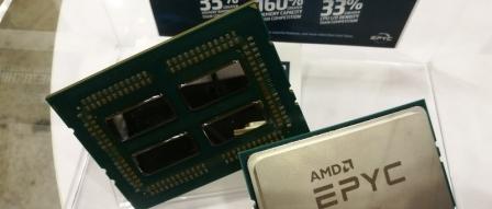 뚜따한 AMD EPYC 프로세서와 Radeon Instinct MI25 실물 공개 by 아키텍트