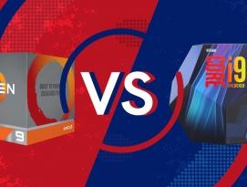 AMD 라이젠9 3900X vs 인텔 Core i9-9900K 게임 성능 대결 by 프로페셔널