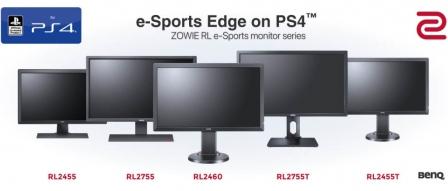 벤큐, 신형 ZOWIE RL e-Sports 모니터 시리즈 발표 by 아키텍트