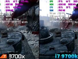 Ryzen 7 3700x vs i7 9700k Test in 10 Games by 프로페셔널
