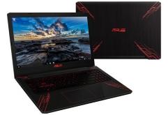 "ASUS는 중량 1.9kg의 게이밍 노트북 ""FX570UD""를 8월 10일에 발매한다.    검은색에 빨간선이 엑센트가 된 디자인이 특징인 게이밍 노트북으로 두께를 21.9mm, 무게를 약 1.9kg로 휴대도 가능하다. 선반의 힌지..."